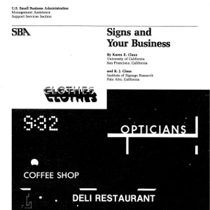 Signs and Your Business (1977)